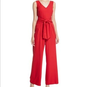 Laundry Shelli Segal Red Jumpsuit